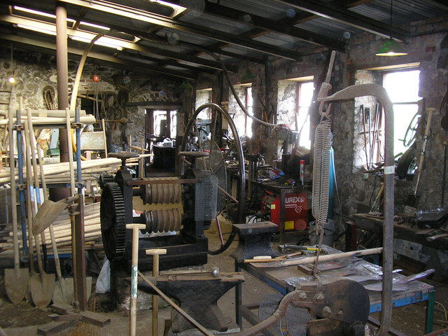 Interior of Patterson Spade Mill, Carnanee, Templepatrick