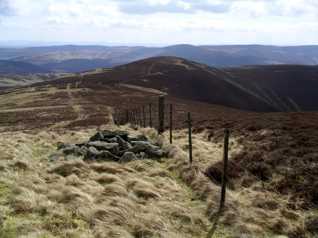 Cairn and Fence, Plover Knowe