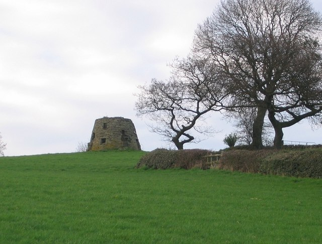 Windmill ruin near Fritchley