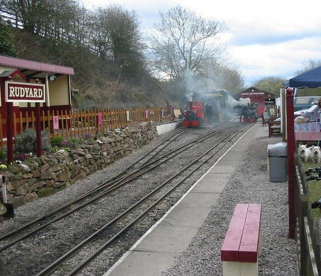 Rudyard Lake Station