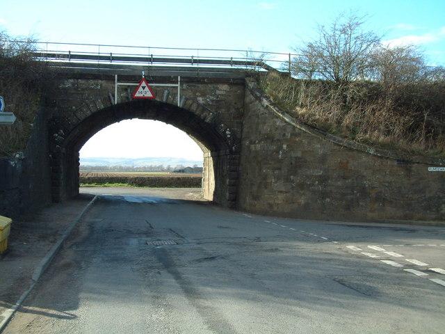 Kettlebridge railway bridge