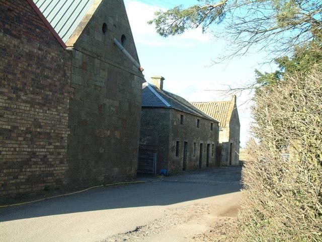 Mill buildings
