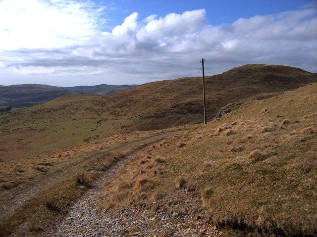 The western slope of Llechwedd Mawr