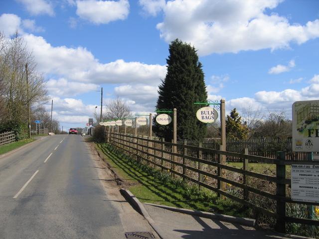 Garden  centres signs