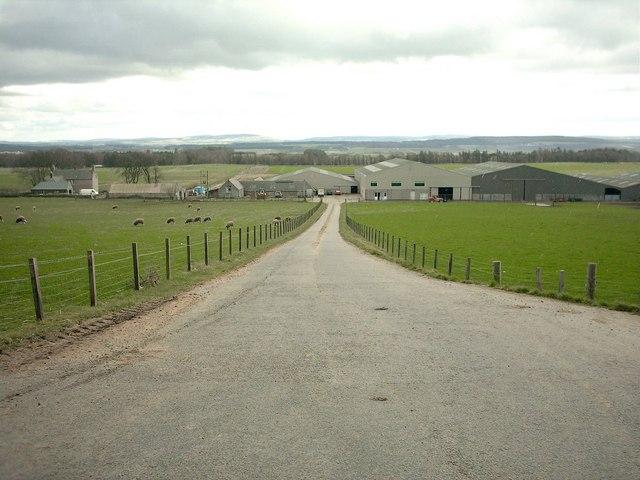 Plewlands Farm near Lossiemouth