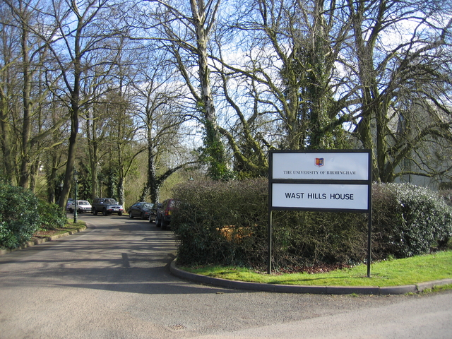 Entrance to Wast Hills House