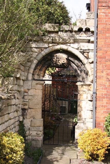 Gate on Drury Lane