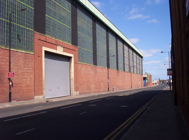 Factory on Shields Road