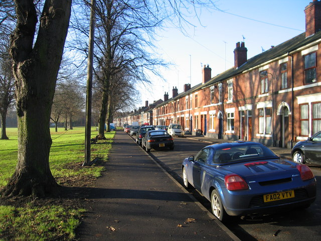 Chester Green Road on a quiet Sunday morning