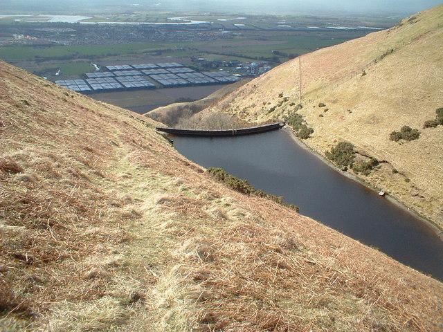 Reservoir on Balquharn Burn