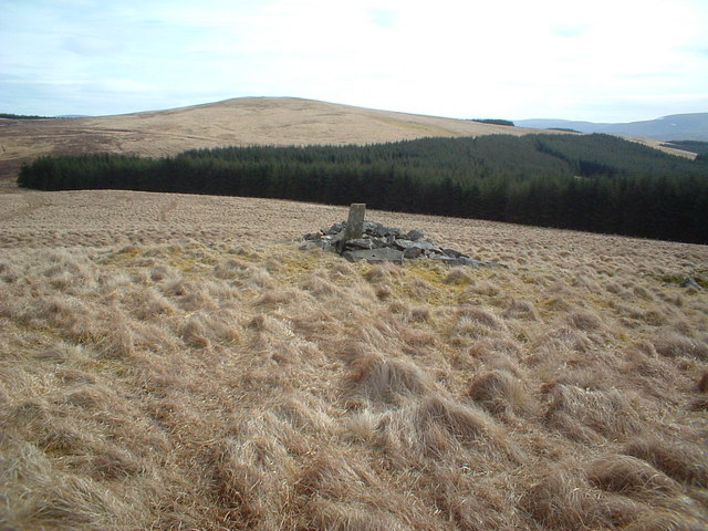 Cairn on Pin Stane Hill