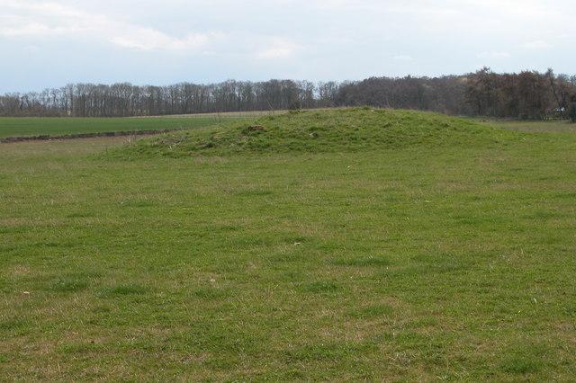 Tumulus to the south of Scarborough Farm