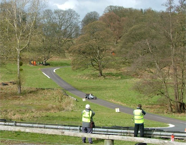 Loton Park Hillclimb Course