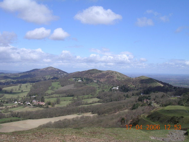 Worcestershire Beacon from Herefordshire Beacon