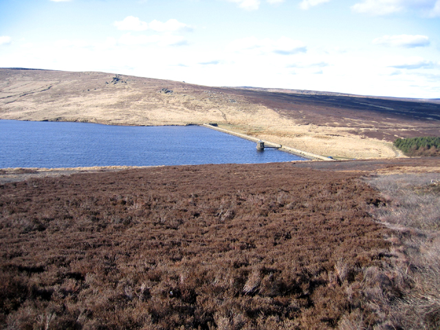 Gorple Upper Reservoir and Dam, W Yorks