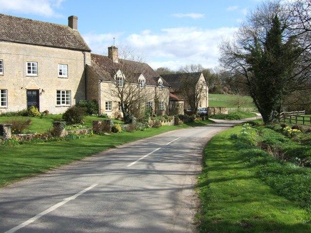 Gagingwell - The lane to Radfordbridge