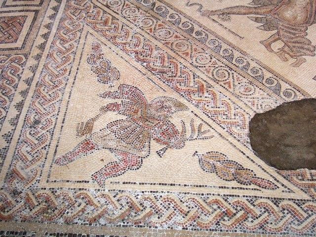Mosaic floor, Chedworth