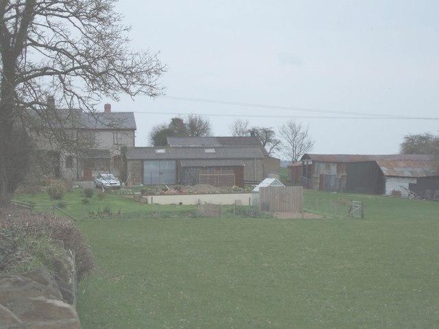 Farm between Shobdon and Mortimer's Cross