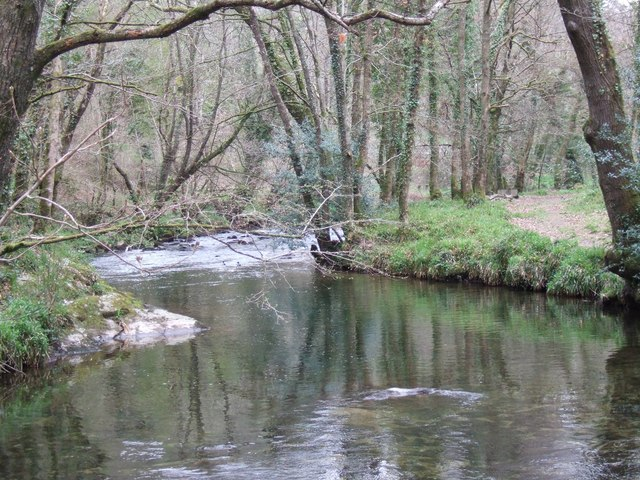 River Plym below Bickleigh Bridge