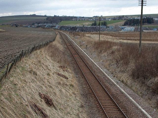 Aberdeen/Inverness Railway near Keith