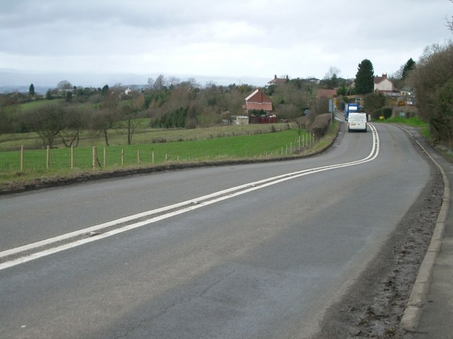 High Street/Ludlow Road, Cleehill