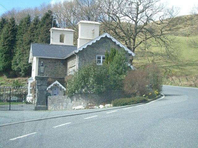 Hafod Lodge, Cwmystwyth