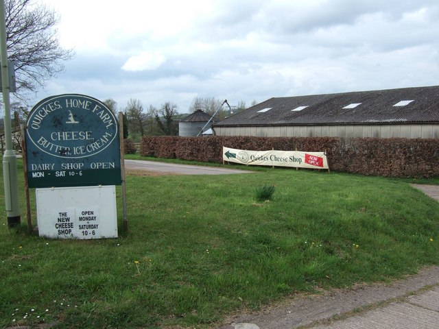 Quicke's (Cheese) Farm Shop, Newton St Cyres