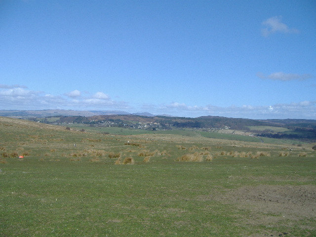 Cheviots and Rothbury from Garleigh Moor