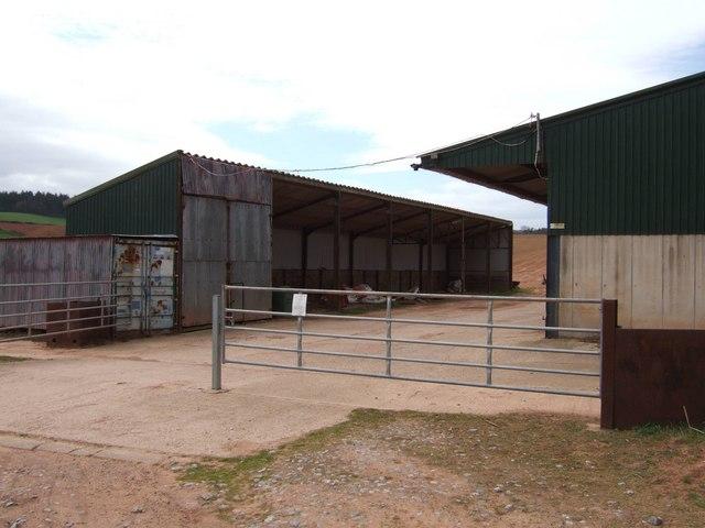 Farm buildings, Crablake Farm, Exminster