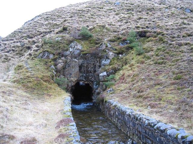 Tunnel of the Allt Coire a' Chuil Droma Mhoir