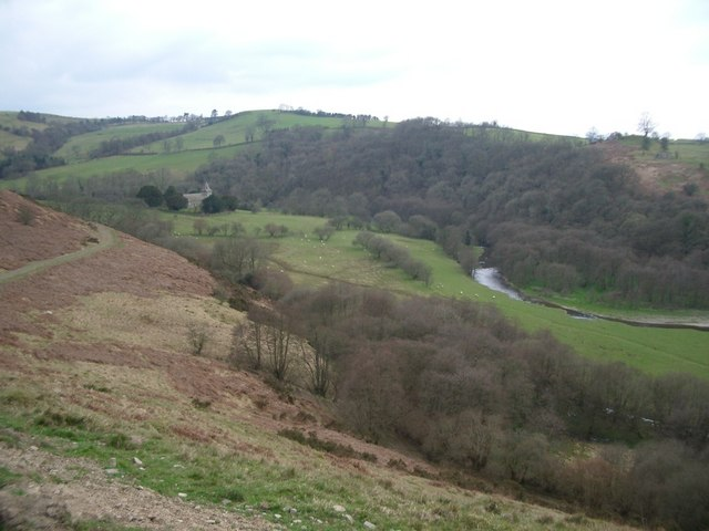 Valley of the River Ithon