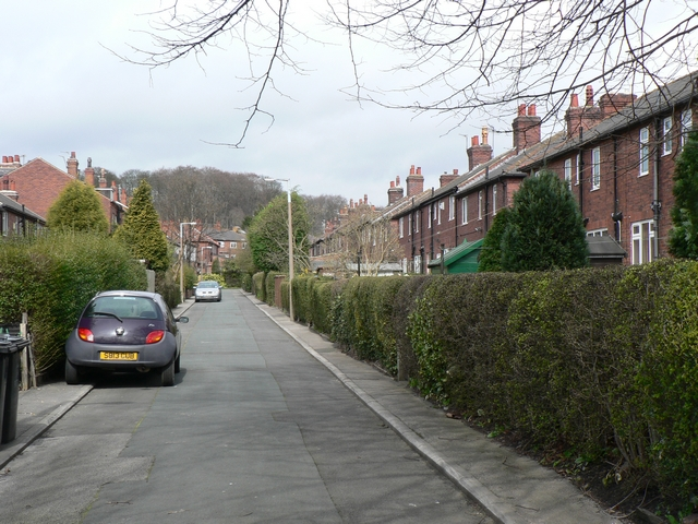 Ash Road and Langdale Gardens, Headingley