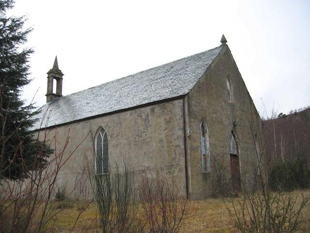 Disused Church near Dundreggan