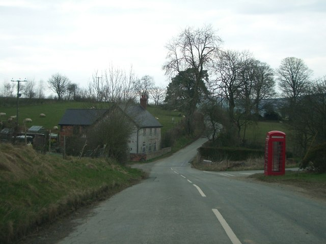 The B4356 at Crossways