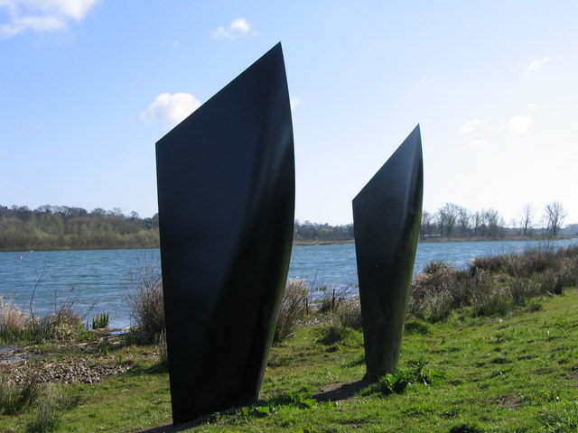 Steel Wherry sails, Whitlingham Broad