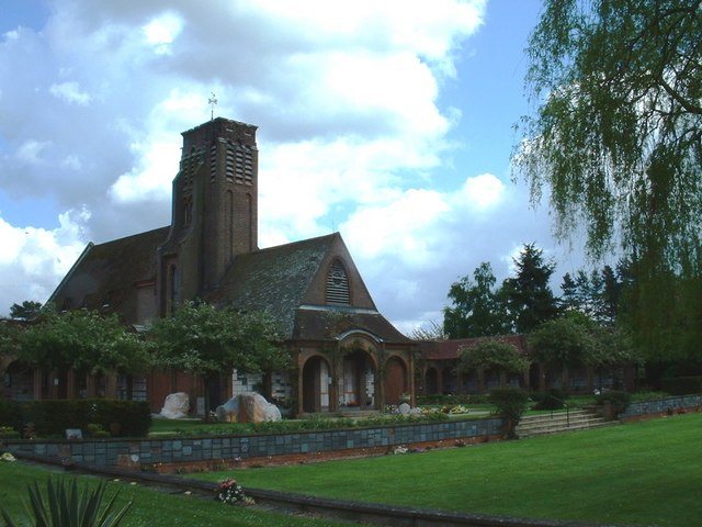 St Faiths crematorium