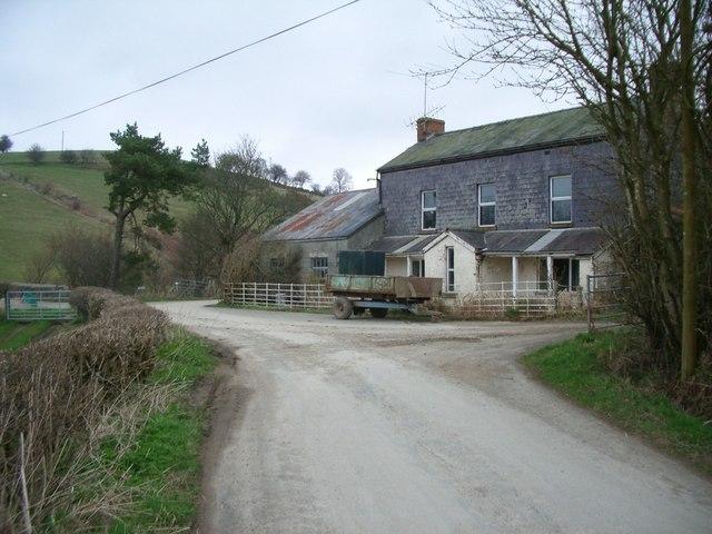Farmhouse near Llanbadarn Fynydd