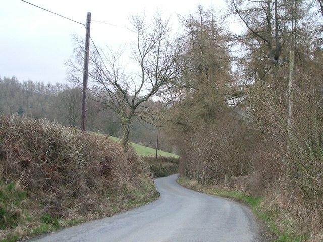 The lane near Castle Vale