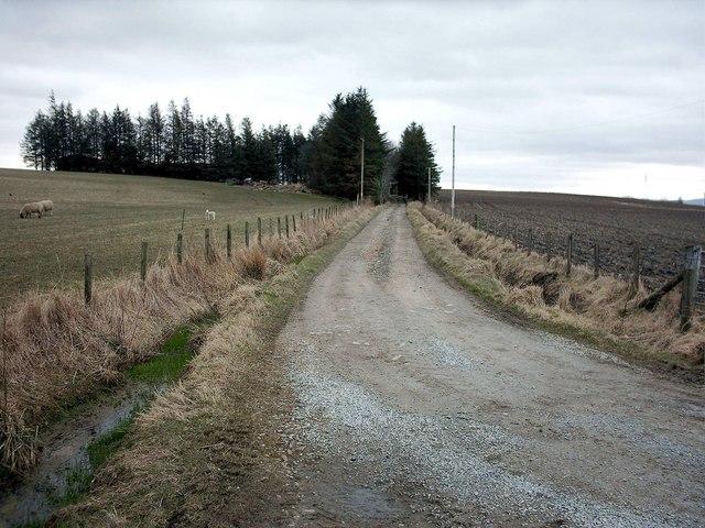 Auchairn Farm Road,near Newmill.