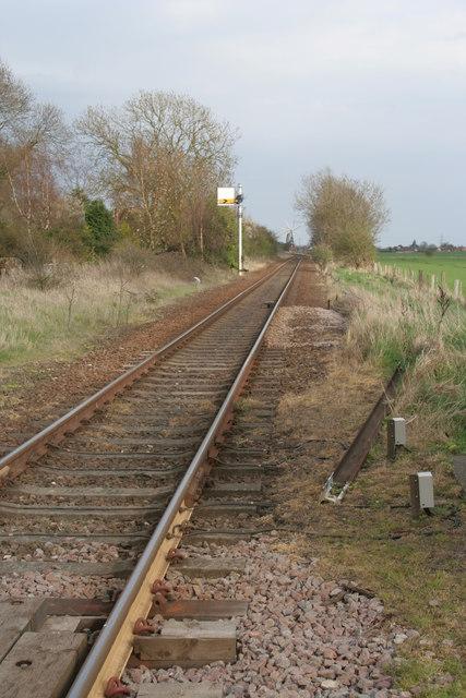 Railway Line from Sleaford to Heckington