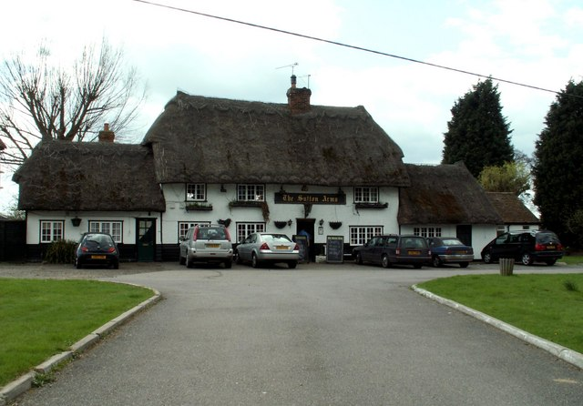 'The Sutton Arms' public house, Little Hallingbury, Essex