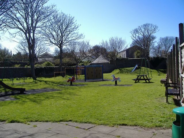 Children's playpark behind Malew Street, Castletown