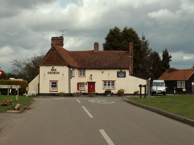 'The George' inn, Little Hallingbury, Essex