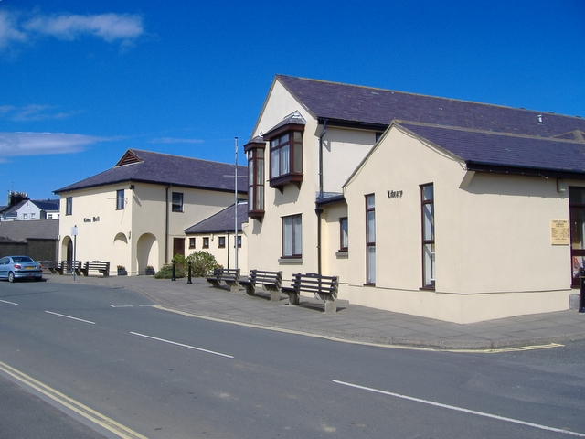 Castletown Town Hall and Library