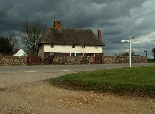 Cottages at Hazel End, Essex