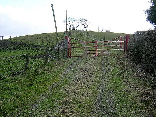 Track Leading to Glenboig Farm