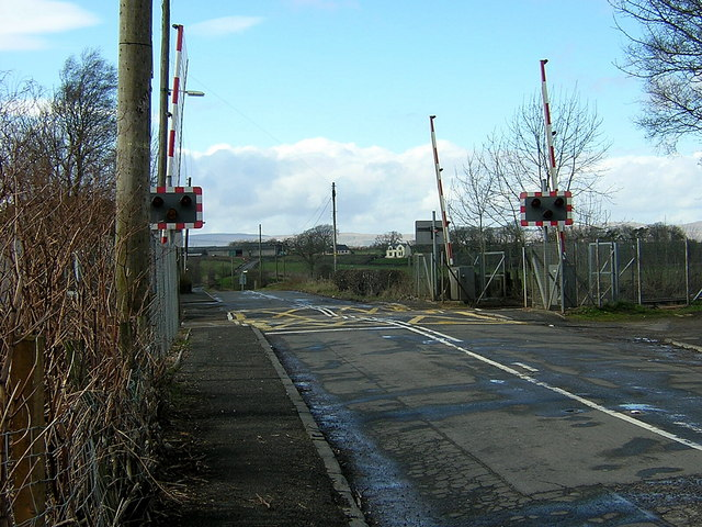 Level Crossing at Greenfoot