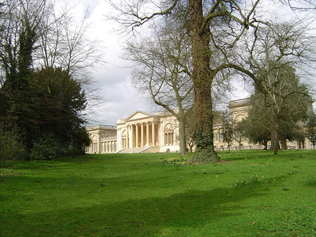 Stowe House - the South Front