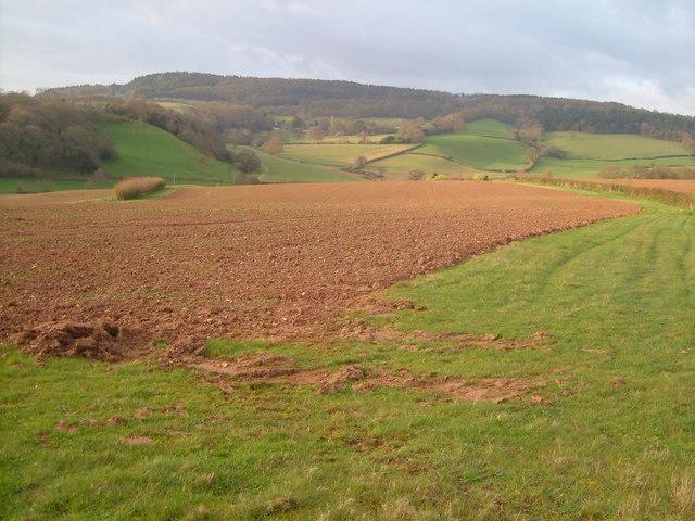 View near Splatford