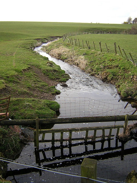 Cleughearn Burn Near Millwell Road